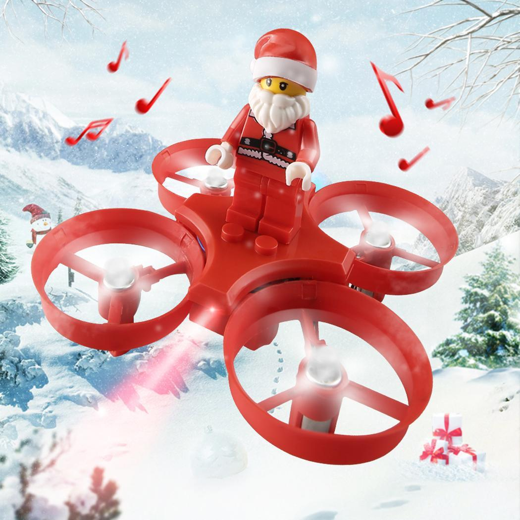 Durable Santa Claus Shape Four Axi Remote 50m Control Flying 0 120 Meters >6 Years old 30min 50min Toy
