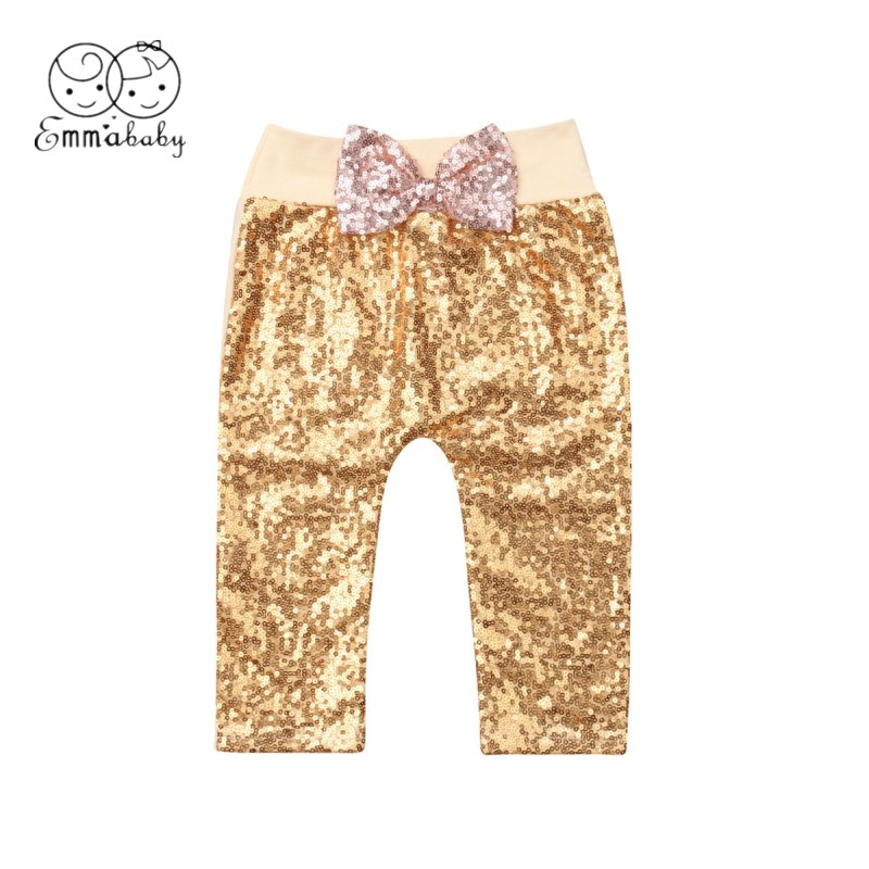 Emmababy Leggings Trousers Baby-Girls Long-Pants Toddler Newborn Kids 0-24M Sequined