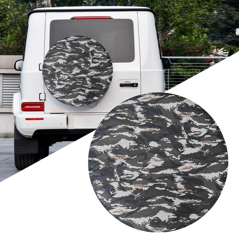 Car Tire Cover Camouflage Pattern For Suv Off Road Universal