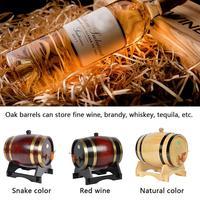 Oak Pine Wine Barrel Storage Special Barrel 1.5L And 3L Storage Bucket Beer Casks