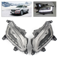 2pcs LED Daytime Running Lights DRL Fog Light Lamp For Hyundai Tucson 2016 2017 2018 Auto Car Parts Accesories