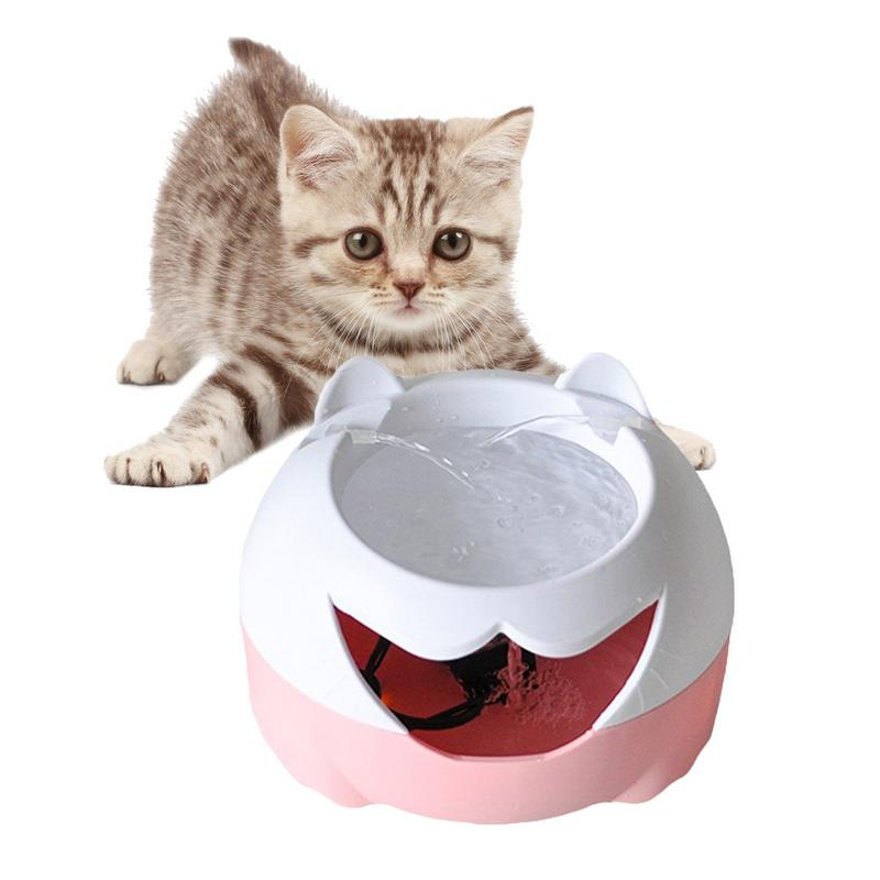 3L Automatic Cat Dog Water Fountain Automatic Pet Feeder Filter Pet Bowl Dringking Water Dispenser Cat Watering Bowl with Light