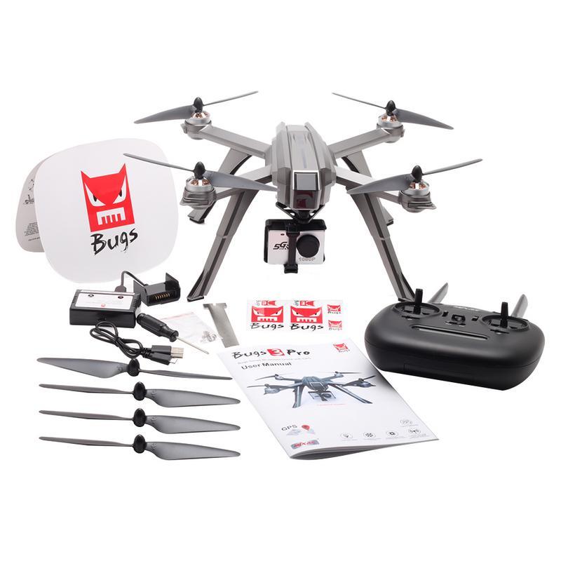 MJX Bugs 3 Pro B3PRO Droni Quadcopter Brushless A Distanza di Controllo 1080 p 5g Wifi