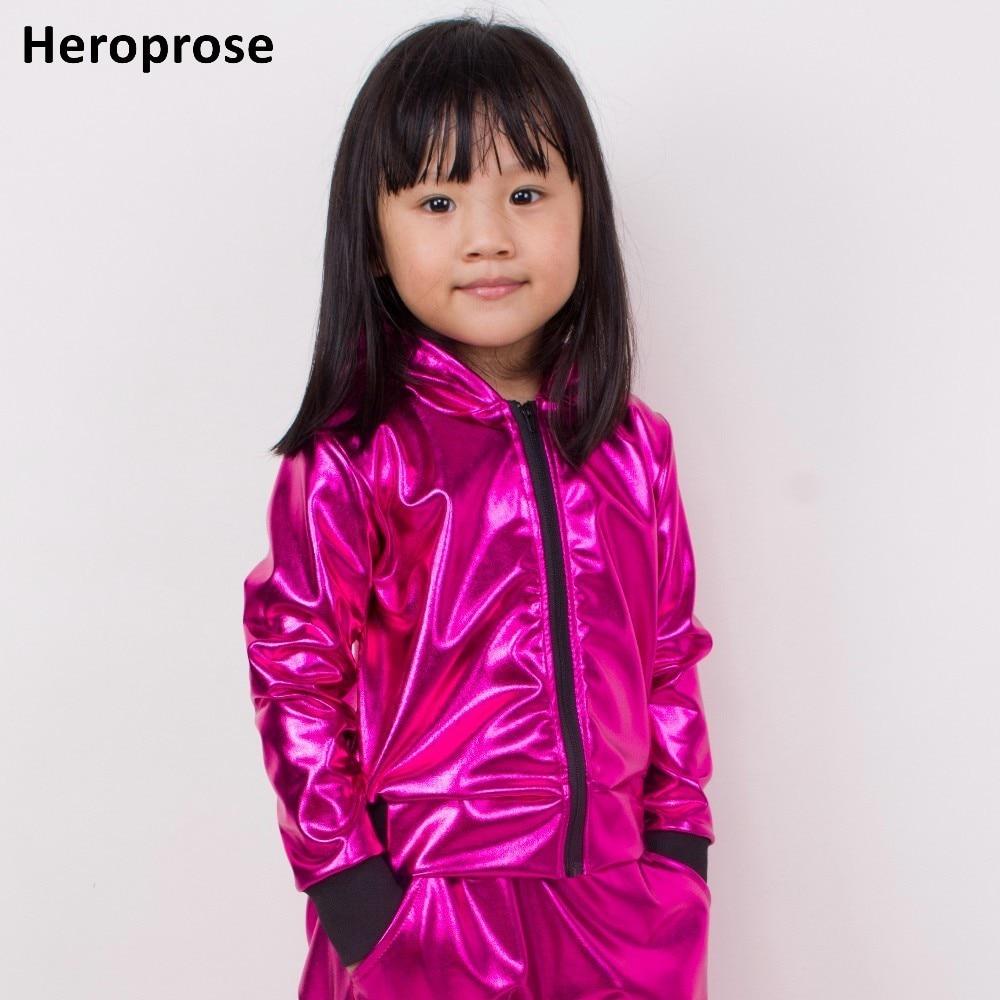 0b9a4cfeb Girls Paillette Glitter Dancewear Costume Hip Hop Modern Jazz Sequin ...