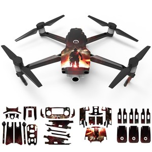 Image 5 - Camouflage Sticker for DJI Mavic 2 Pro & Zoom Drone 3D Waterproof Skin Decal Cover Protector Upgrade Accessories