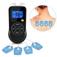 Smart Muscle Electrostimulator Control Voice Massage 6 modes 15 intensity levels with USB Charging