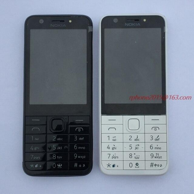 סמארטפון מקורי נוקיה 230 כפול Sim גרסה טלפון GSM טוב באיכות משופץ טלפון נייד & עברית ערבית רוסית מקלדת
