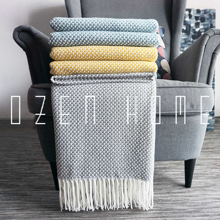 Pleasant Home Soft Things Boon Knitted Tweed Throw Couch Cover Lamtechconsult Wood Chair Design Ideas Lamtechconsultcom