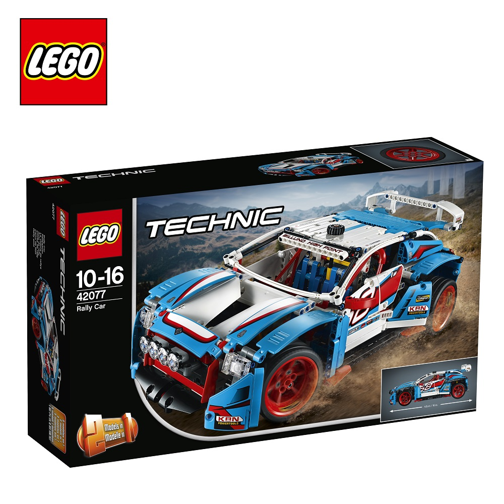 Blocks LEGO 42077 Technic play designer building block set  toys for boys girls game Designers Construction gonlei 7062 lepin technic convertible car building bricks blocks toys for children boy game bela