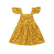 цена на Girls Princess Dress Summer Floral Sleeveless Dress Sundress Lace Kids Costumes Girls Party Clothes Cotton Kids Wedding Dresses