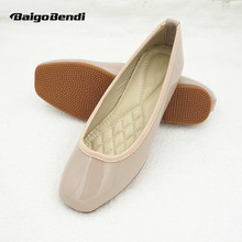 Soft Ballet Flats Ladies Comfort Flat Shoes Pregnant Woman Slip On Casual Shoes Light Weight недорого