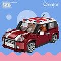 Лоз мини-блоки модель автомобиля строительные блоки технические создатель гоночный автомобиль сборки игрушки для детей образовательные Подарки DIY Кирпичи весело - фото