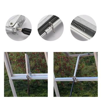 Automatyczne otwieranie okien wrażliwe na ciepło słoneczne automatyczny wentylator szklarniowy otwieracz do okien tanie i dobre opinie Automatyczne bram green house replacement cylinder