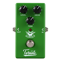 New Twinote Tube Drive Guitar Effect Pedal Overdrive Effects Pedal sound Guitar Pedal