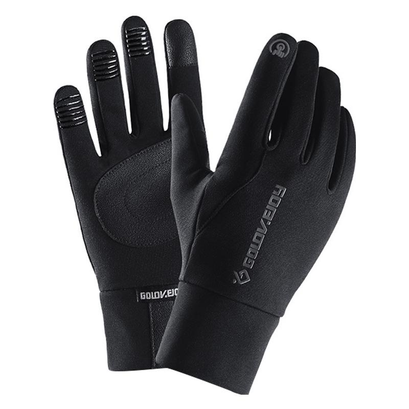 Winter Warme Handschuhe Touch Screen Wasserdichte <font><b>Hand</b></font> Wärmer Outdoor Zubehör Winddicht Laufen Fahrrad Handschuhe Für Mann Frauen image