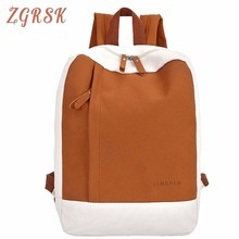 Canvas Women Fashion Backpacks Letter For Zipper Girls Korean Style Backpack Sports Cute Shoulds Travel Bag School Casual