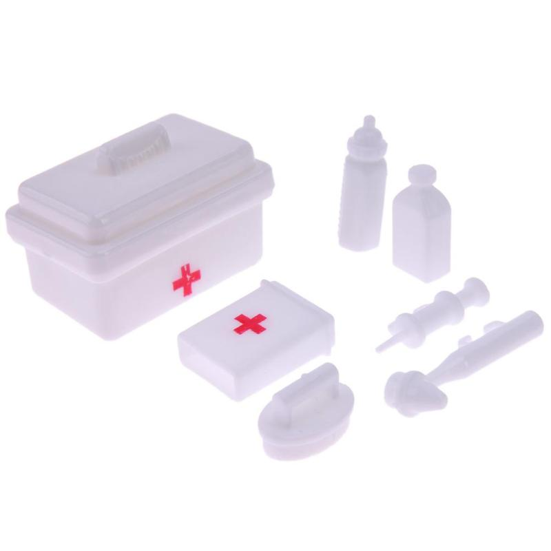 1 Set Blister Toy Plastic Medical Kit for doll Doll Accessories   TDO