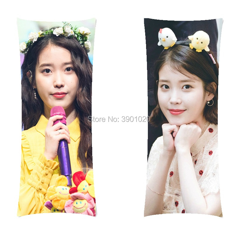 Birthday Gift Girlfriend IU body pillow Lee Ji Eun long hugging Pillow including inner home customize