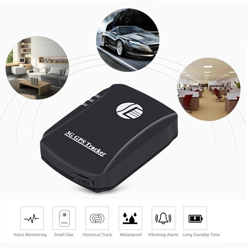 TK207 3G GPS Tracker Portable en temps réel localisateur véhicule Pet enfants dispositif de suivi étanche surveillance vocale véhicule GPS Tracker