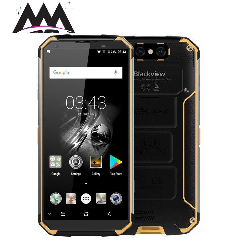"Blackview BV9500 IP68 Waterproof shockproof 4G Smartphone 10000mAh Android 8.1 4GB+64GB Octa Core 5.7"" 13.0mp mobile phone"
