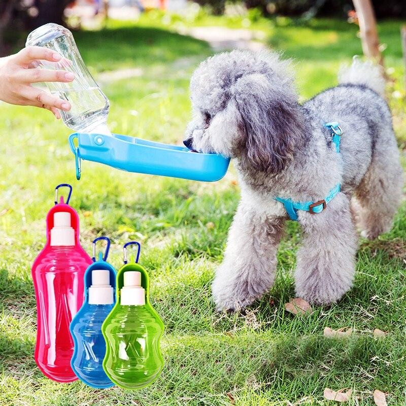 Portable Water Dispenser For Pets: Pet Portable Water Pot Dog Outdoor Water Dispenser Pet Dog
