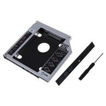 "12,7 мм 2,"" SATA HDD жесткий диск отсек Caddy для lenovo Y430 Y450 V560"