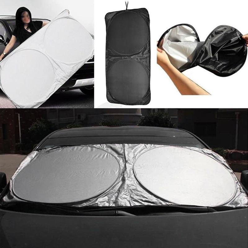 Ford Fiesta 08/> Front Windscreen Foil Foldable Car UV Laser Sun Shade Block Scre