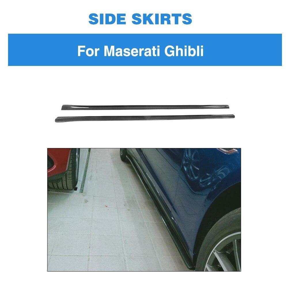 Боковые юбки из углеродного волокна для Subaru BRZ 2018 2013 Боковой бампер для губ
