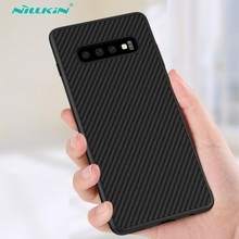 NILLKIN étui synthétique pour Samsung S10 / S10 Plus housse ultra mince boîtier PP coque arrière pour Samsung Galaxy S10 Plus capa