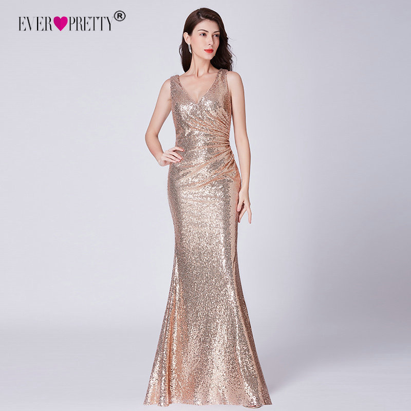 Sequined Prom Dresses 2019 Ever Pretty Elegant Little ...