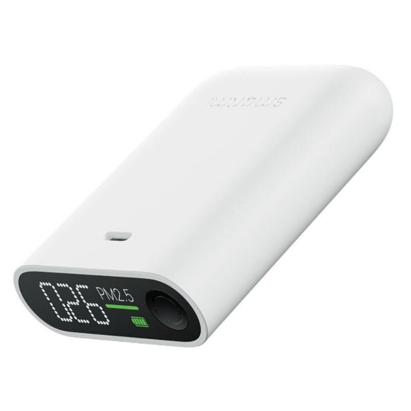 Xiaomi smart mi PM2.5 détecteur d'air portable PM 2.5 mi ni sensible mi jia moniteur de qualité de l'air pour le bureau à domicile hôtel mi écran LED