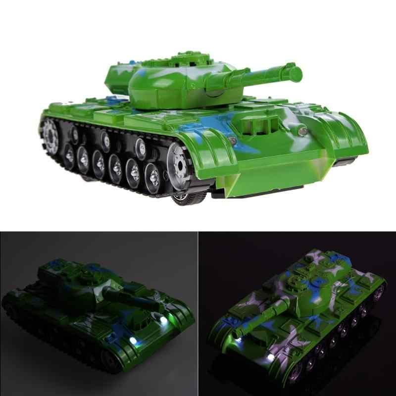 Rc Танк боевой танк модель 360 Вращение музыки светодиодный Радиоуправляемый пульт дистанционного управления бои пластиковые игрушки гусеничный трактор