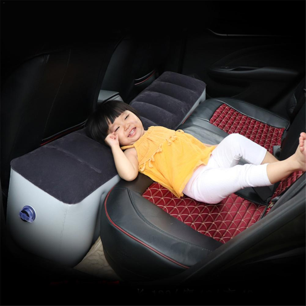 Car Bed Car Mattress Inflatable Back Seat Gap Pad Air Bed Cushion Self-driving Tour Bed Car Travel Camping Auto Car Interior