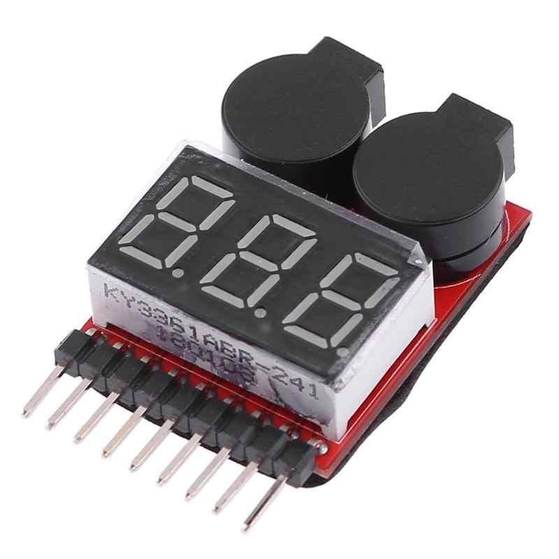 Batterij Voltage LED Indicator Laagspanning Meet Meter Alarm Buzzer voor speelgoed RC Cars Deel ToyAlarm Buzzer Praktische tool set