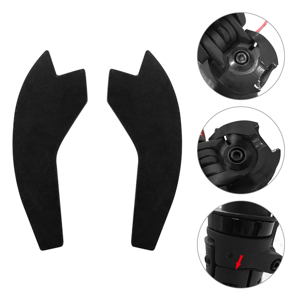 Image 5 - Scooter Folding Joint Damper Rubber Pad Avoiding Cushion Fixing Damper Paster for Xiaomi Mijia M365 Electric Scooters-in Skate Board from Sports & Entertainment