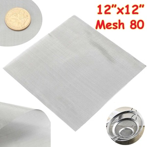 1pc 80 Mesh Woven Wire Cloth S