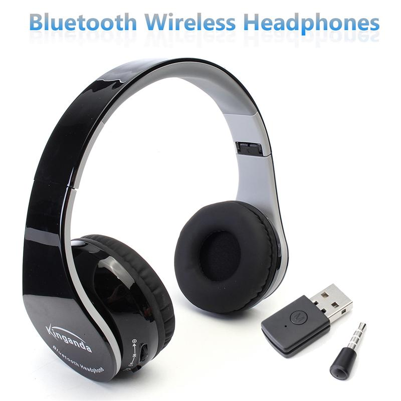 3 5mm Jack Wireless bluetooth Foldable Stereo Headphone Gaming Headset For Sony PS4 PC Game Headphone