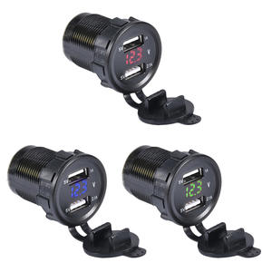 12 V/24 V Dual Port Car USB Charger For Ipad Iphone Car Boat