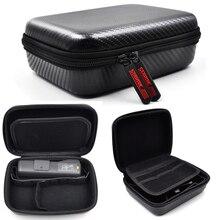 PU ハードシェルポータブルキャリングケース防水ポータブル保護袋収納ボックスケース DJI Osmo ポケット/アクションアクセサリー