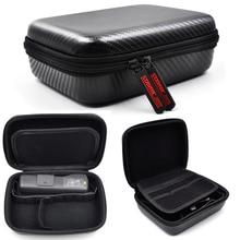 PU Hardshell נייד תיק נשיאה עמיד למים נייד מגן שקית אחסון תיבת מקרה עבור DJI אוסמו כיס/פעולה אבזרים