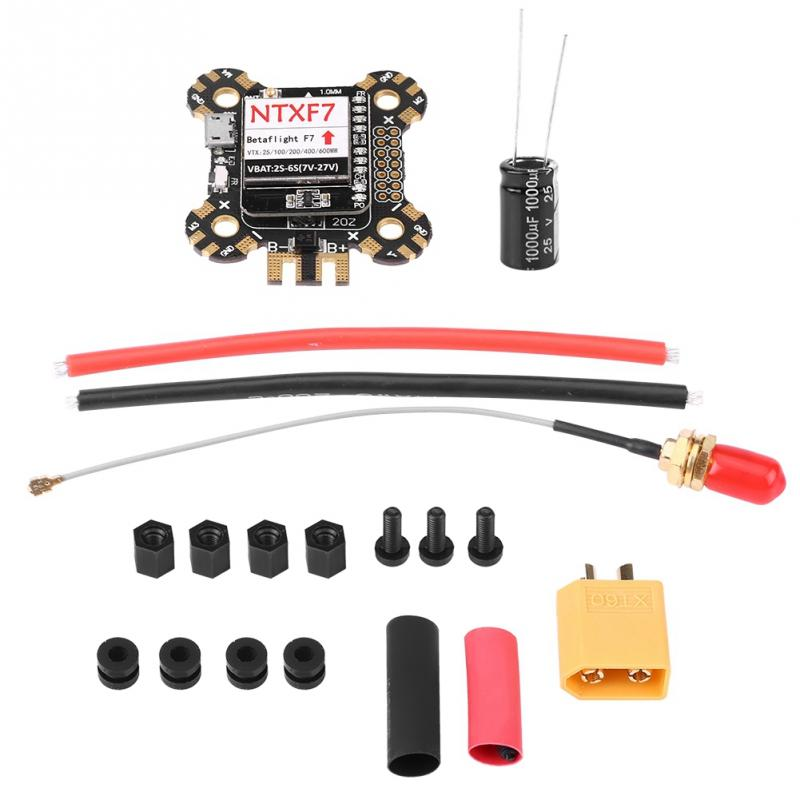 NTXF7 Flight Controller F7 FC Integrated Transmitter 600mW Switchable VTX PDB OSD for FPV Drone PCB