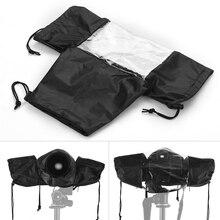 Standart Kamera Su Geçirmez Siyah Yağmur kol örtüsü Koruyucu Yağmurluk için Canon Nikon Sony DSLR kameralar