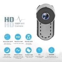 Quelima Wireless WiFi 1080P HD Car Camera Infrared Night Vision Remote Camera Car Interior Dash Camera