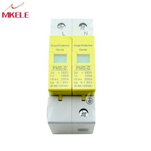 Surge Protector SPD 10KA~20KA 385VAC 1P+N Mini House Low-voltage Arrester Device High Quality Lightning Protection Protective стоимость