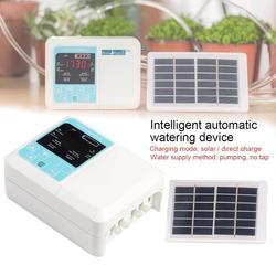 Intelligente Timing Automatico di Irrigazione In Vaso di Giardinaggio Attrezzi Da Giardino Solare Acqua Goccia A Goccia Infiltrazioni Singolo Modello di Pompa 2019 Nuovo