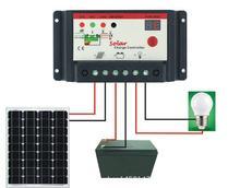 20A автоматический контроль заряда на солнечной батарее контроллер светодио дный ного освещения