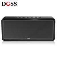 DOSS DS 1685 Portable Wireless Bluetooth Soundbar Speaker High quality Stereo Sound 3.5mm AUX Audio Input Subwoofer Speaker