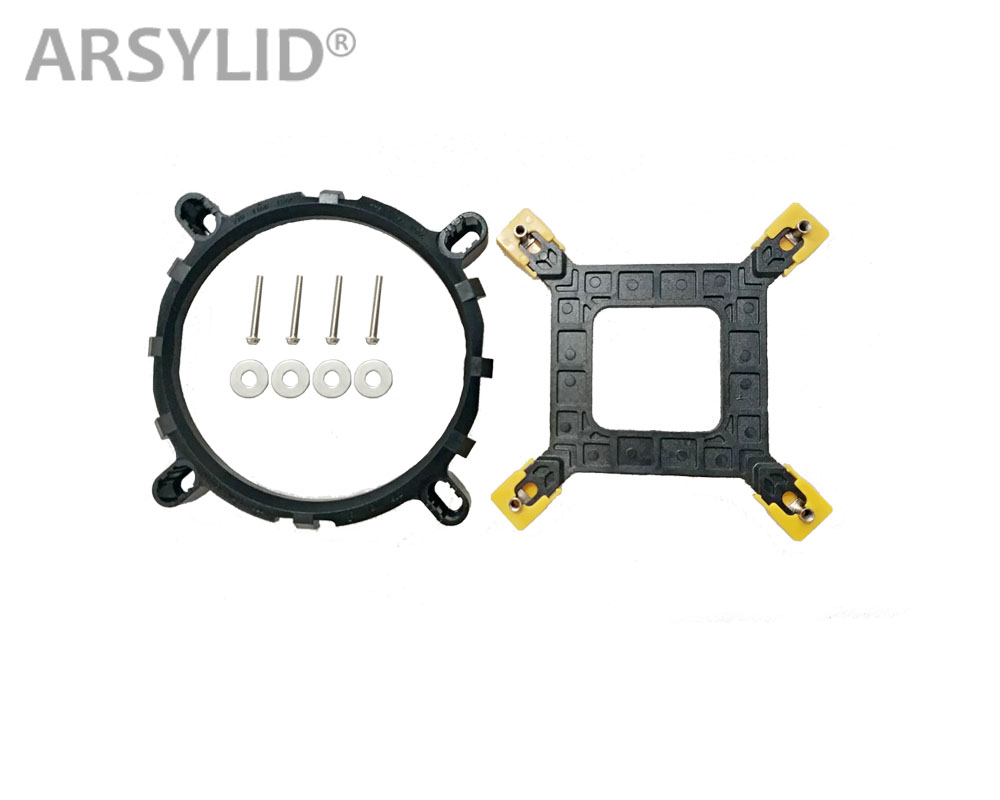 ARSYLID Sokcet775 Sokcet115x (1151 1150 1155 1156) Mounting Bracket And Backplane Screw Fixed