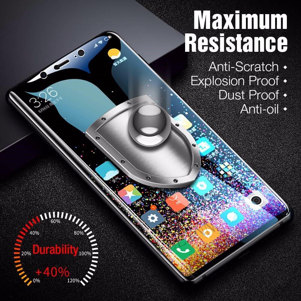 HD Premium Tempered Glass For Xiaomi Pocophone F1 Mi 9 Redmi 6 Pro Note 5 6 7 8 Lite Protective Glass For Redmi 7A Go K20 Film in Phone Screen Protectors from Cellphones Telecommunications