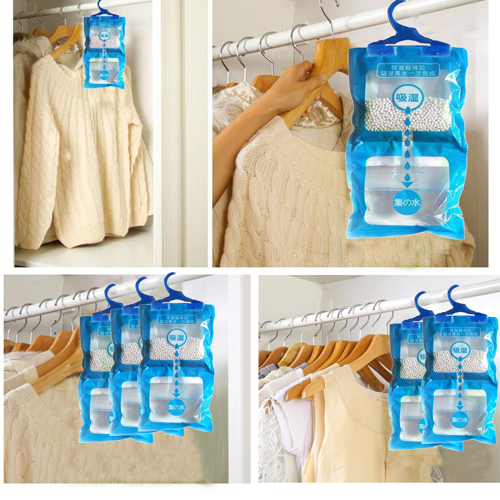 Moisture-proof Moisture Absorbers Room Mould-proof Deodorizing Desiccant Moisture Absorber Scented Hanging Dehumidifier Bag